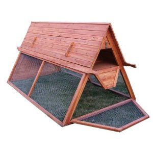 Building backyard chicken coops blog archive portable for Portable chicken yard